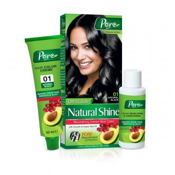 Natural Shine Nourishing Cream Hair Color